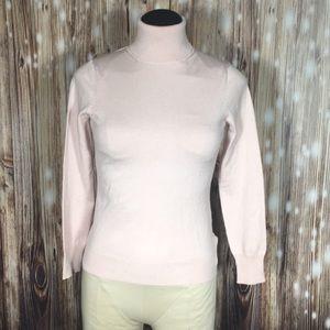 NWT Banana Republic Silk Turtleneck Sweater XS P